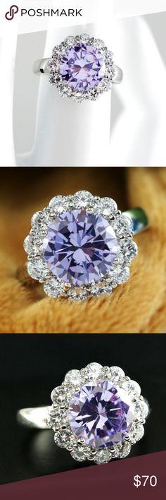 3.0ct 5AAAAA level Genuine Italian Ring NEW Platinum Plated 3.0ct 5AAAAA level Genuine Italian Zircon Ring US Seller,  5 Star Rating!!!  Platinum Plated 5AAAAA level Genuine Italian Zircon Ring  New Arrival from Ugoshine !  High quality ensured! Jewelry Rings
