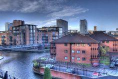 Canal near the Mailbox, Birmingham UK