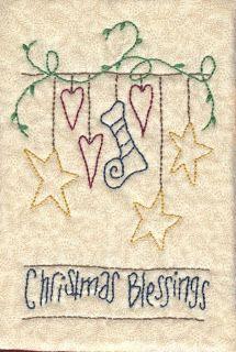 Lindas Creations: Christmas Stitchery