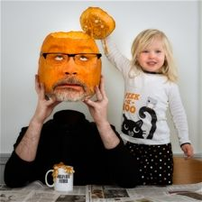 pumpkinhead by Dave Engledow in Humor Photography