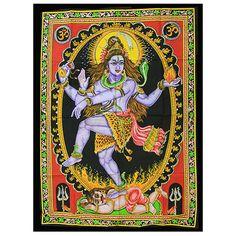Indian Wall Art Print - Dancing Shiva #Dochsa