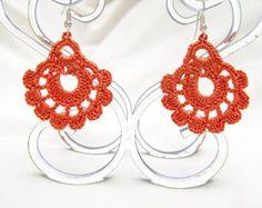 PDF Tutorial Crochet Pattern...Beaded Dangle by accessoriesbynez
