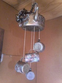 Tokreen kettle & cups - Hazel Mulder