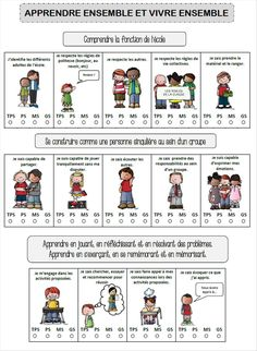 Cahier de réussite maternelle | ti' loustics Core French, French Class, Petite Section, Educational Crafts, Social Stories, Teaching Tools, Art School, Montessori, Teacher