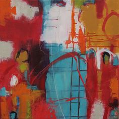 Abstrakte Kunst von Iris Rickart / Bild 205 / Mischtechnik