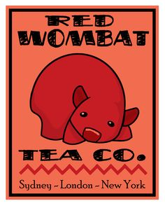 Red Wombat Tea Co. by `ursulav