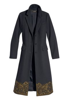 Shop the Trend: The BAZAAR Gold Standard - Michael Kors coat