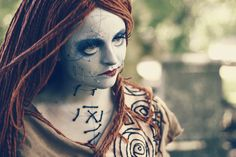 A Nightmare Before Christmas. Sally. The makeup is incredible! Notice the 3D stitches. - 10 Sally Cosplays