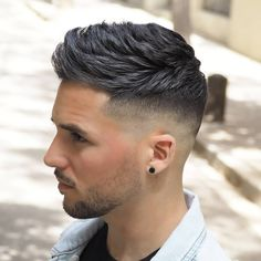 50 Popular Haircuts For Men Guide Best Fade Haircuts & Popular Hairstyles For Men: Best Men& Haircuts, Cool Short, Medium and Long Hair Styles For Guys Best Fade Haircuts, Fade Haircut Styles, Low Fade Haircut, Trending Haircuts, Cool Haircuts, Hair And Beard Styles, Hairstyles Haircuts, Haircuts For Men, Haircut Men