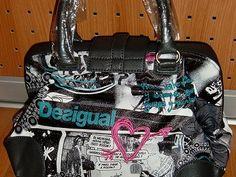 Desigual značková kabelka, krásná luxusní kabelka, nová,