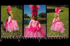 Infant/Toddler Pink Flamingo Tutu Dress by frillsfromtop2bottom
