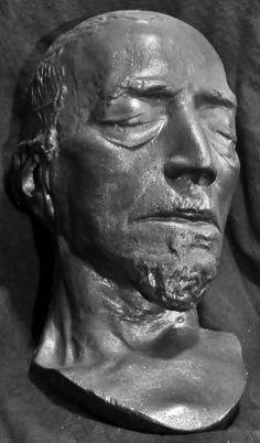 Benjamin Disraeli's death mask.