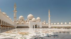 Sheikh Zayed Grand Mosque - The Overview by Thomas Uttich, Dr. on 500px