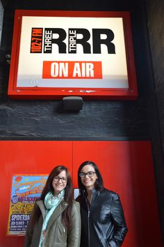 Our radio interview for our debut book THE DOOR.