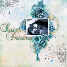 A2Z Scraplets: Sweet dreams #chipboard #scrapbooking #layout #a2zscraplets www.a2zscraplets.com.au This would be my all time favourite layout!