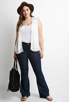 Clean Wash Bootleg Jeans | Forever 21 PLUS | #f21plus