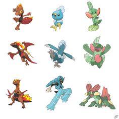 Type Swapped Pokemon. - Album on Imgur