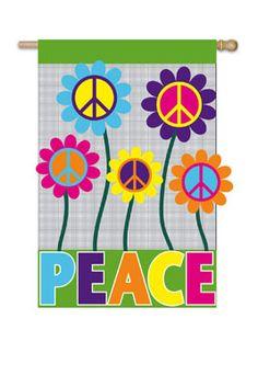 Great gift for Internation Peace Day, September 21,2013 FlagCenter.com - Peace House Flag, $26.00 (http://www.flagcenter.com/peace-house-flag/)