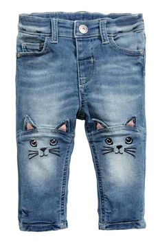 H&M - Embroidered jeans £12.99