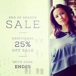 Sale on sale - 25% off sale prices end 3.3.14 #sustainable #organic #cotton #recycled