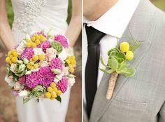 modèle original de bouquet mariage