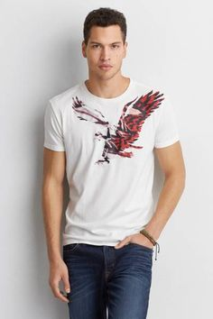 AEO Signature Graphic T-Shirt  by AEO | Get graphic with your
