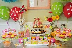 Six Sisters Stuff: 25 Creative Girl Birthday Party Ideas party themes  Also has a link to boy theme parties at the end of the article.  I am LOVING this blog! entertaining