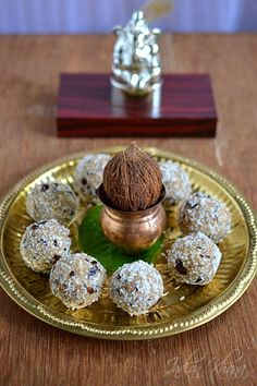 Vegan Dates Sesame Laddu   Ganesh Chaturthi Recipes  Vegan, Sugar-free, Fat-free and Guilt-free Dates and Sesame Laddu ..great during festivals or coming Ganesh Chaturthi or for a quick snack or dessert. Do read the post to know more about sesame and dates benefits.