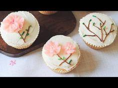cherryblossom with butter cream / 버터크림으로 벚꽃 만들기 - YouTube