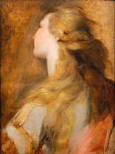 peril: Head study for Mary Magdalen | artwork by Federico Barocci