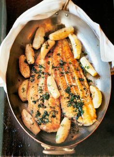 Sole meuniere:The 10 Most Popular French Recipes. http://foodmenuideas.blogspot.com/2014/06/the-10-most-popular-french-recipes.html