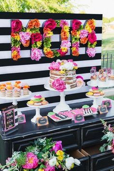 Beautiful Mother's Day buffet