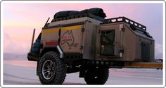 The UEV-360 is designed to offer a light nimble and go anywhere camper trailer. Moving to Australia maybe :)