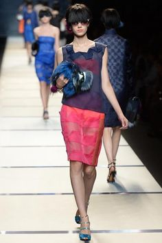 Fendi Spring 2014 Ready-to-Wear Collection Slideshow on Style.com Esther Heesch
