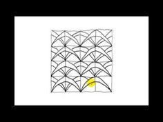 Zentangle Patterns   Tangle Patterns? - Boomerangs - YouTube
