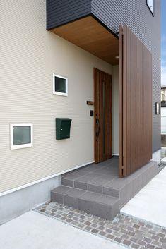 Zen House Design, Condo Design, House Front Design, Facade Design, Door Design, Exterior Design, Architecture Design, House Front Door, House Entrance