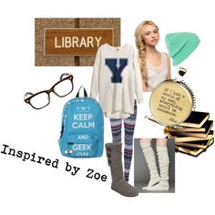 """Tween Fashion Inspired by Zoe - Get Your Study On"" by lmgrisez on Polyvore"