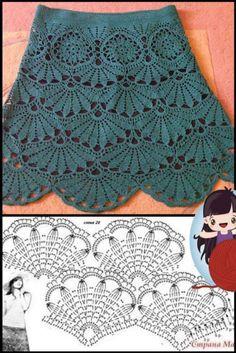 Crochet Baby Sweater Pattern, Crochet Coat, Crochet Blouse, Crochet Stitches Patterns, Crochet Motif, Crochet Lace, Knitting Patterns, Crochet Skirts, Crochet Clothes