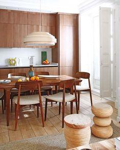 Un amplio piso de 65 m² decorado por Pepe Leal