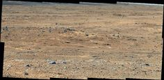 Sept 7th 2013 image of Curiosity rover shows a view of Gale Crater near the Mars Equator Experiments by Curiosity found no trace of methane gas in the Martian atmosphere