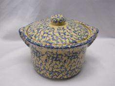 Roseville Pottery Robinson Ransbottom Ohio Usa Blue