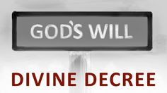 """DIVINE DECREE 