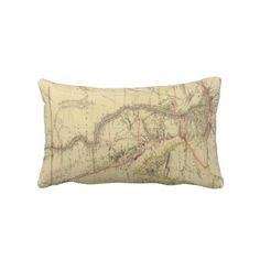 Vintage Map of Egypt (1832) Throw Pillows from Zazzle.com $52.00