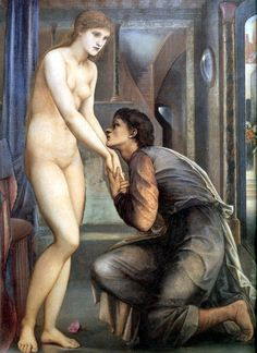 Pygmalion and the Image 04: The Soul Attains by Edward Burne-Jones. I saw this today in Tokyo. Junje 24, 2012