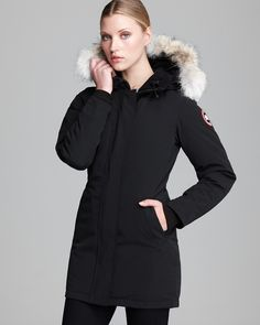 Canada Goose Coat - Victoria | Bloomingdale's. $695. For winter in Germany