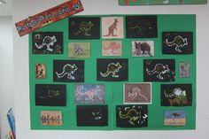 Australian Aboriginal Art - Dot Painting - Kids loved it and it looks amazing!