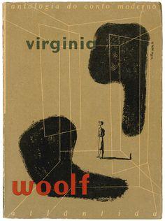 Virginia Woolf, Atlantis Publisher, design Victor Palla, 1951