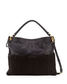 28b500f42acc MARC by Marc Jacobs Tread Lightly Leather Hobo Bag