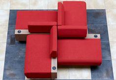 """""""Hub"""" modular lounge seating from KI"""