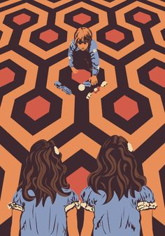 The Shining Room 237 Danny Torrance by Creative Spectator Stanley Kubrick The Shining, The Shining Twins, Movie Poster Art, Movie Collage, Tv Movie, Steve King, Cinema, Film Images, Ideas